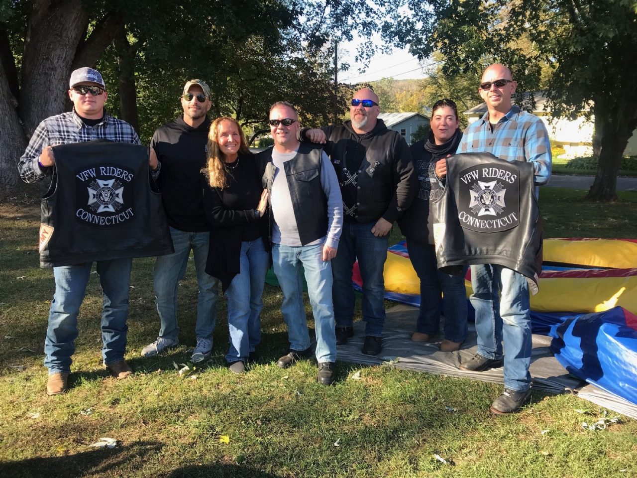 Jason D. Lewis Brookfield Memorial Post 10201 VFW Riders group